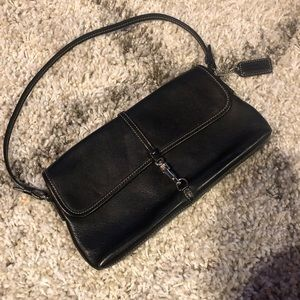 Mini Coach Shoulder Clutch